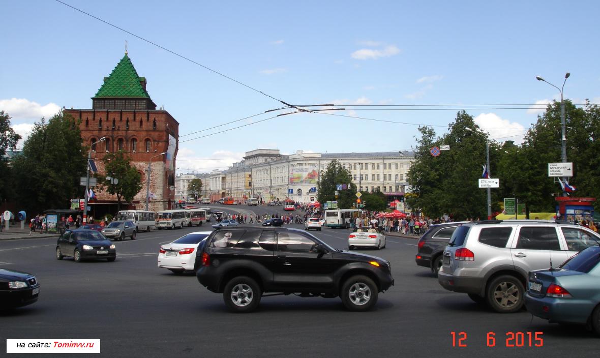 Площадь Минина