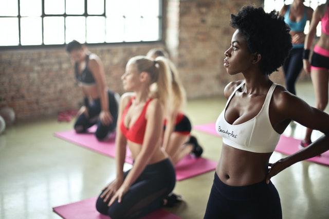 Yoga lernen das erste Training