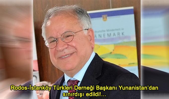 Συνελήφθη στη Ρόδο και απελάθηκε ο Τούρκος καθηγητής Δρ. Μουσταφά Καϊμακτσί – πρόεδρος του Συλλόγου Αλληλεγγύης Ρόδου, Κω και Δωδεκανήσων