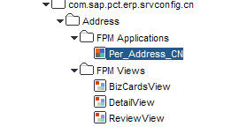 Copy CN FPM Address Application