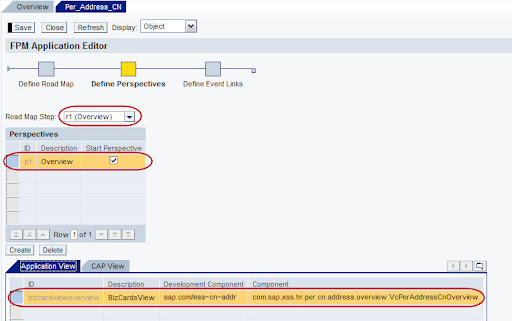 FPM Define Prespective Overview application details