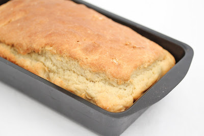 Irish soda bread in a loaf pan