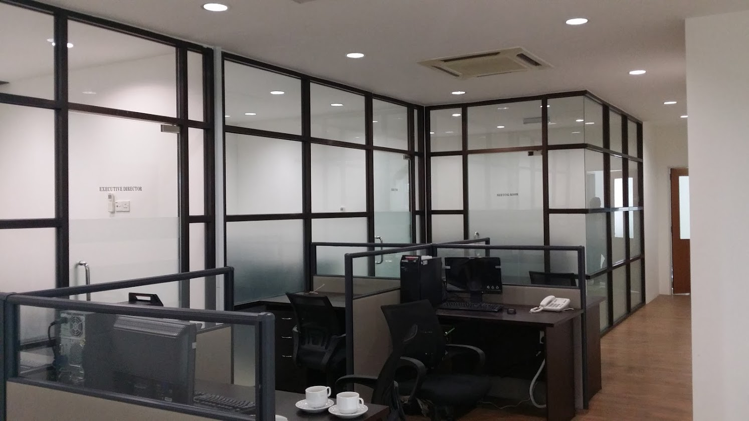 Budget design and build shop office at kepong kl for Office design malaysia