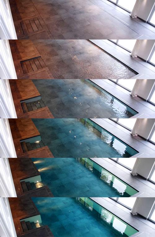 Hydrofloors grindys baseinams