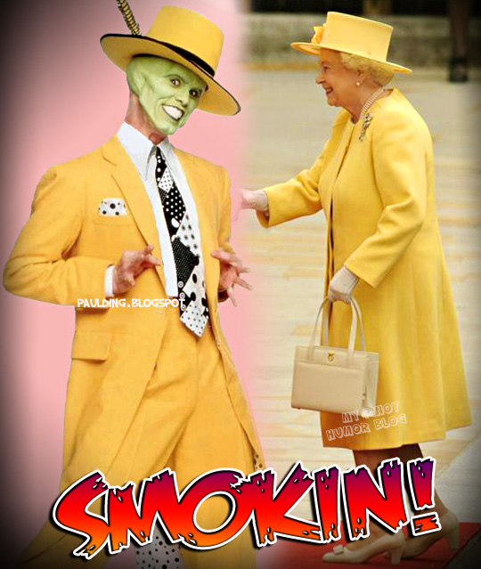 "Yellow Fever! | ""My Pinoy Humor Blog"" Zoot Suit The Mask"