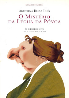 Resultado de imagem para O MISTÉRIO DA LEGUA DA POVOA Agustina_Bessa-Luís
