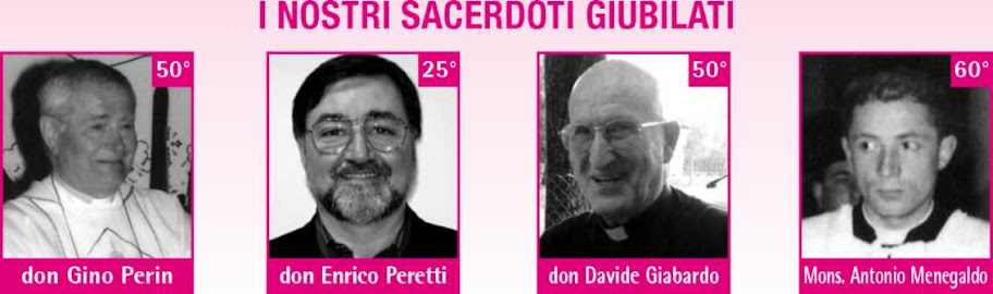 i sacerdoti giubilati nel 2010