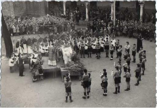 Processione delle Palme 14 aprile 1962