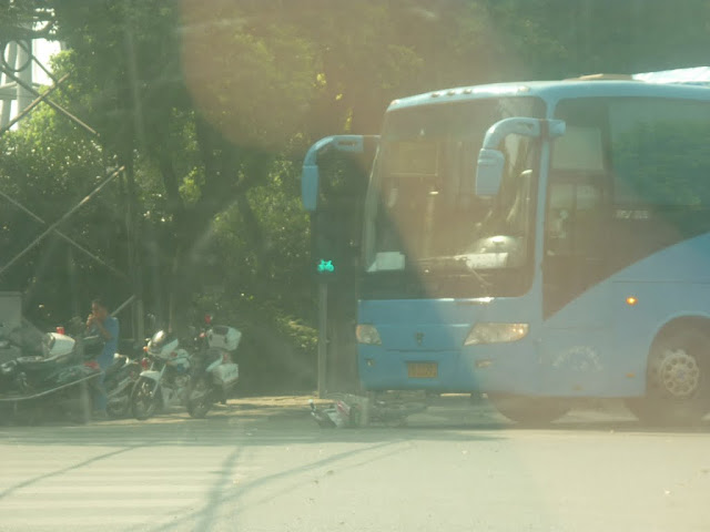 Accidente en China