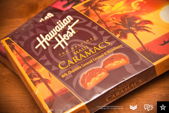 Boxes of Hawaiian Host Chocolates! YUM!