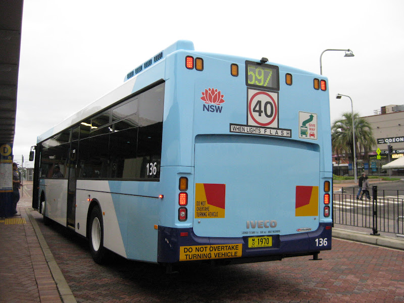 Atdb view topic new tnsw livery shorelink 136 other for Mercedes benz hornsby