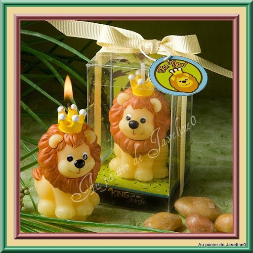 1 bougie enfant roi lion d coration de table f te for Decoration table bapteme