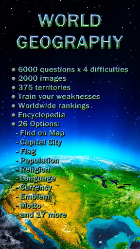 World Geography - Quiz Game- screenshot thumbnail