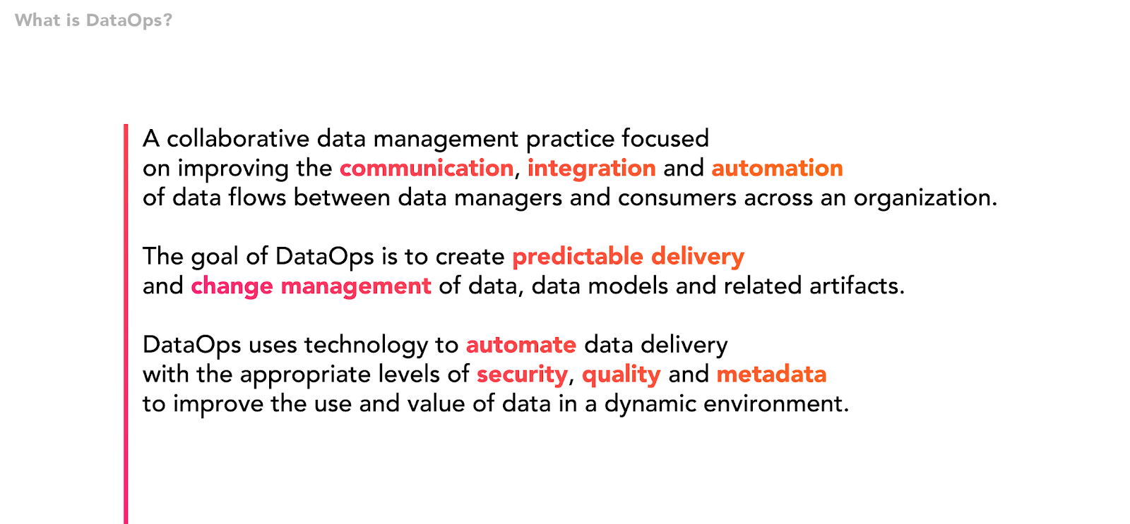 dataops definition