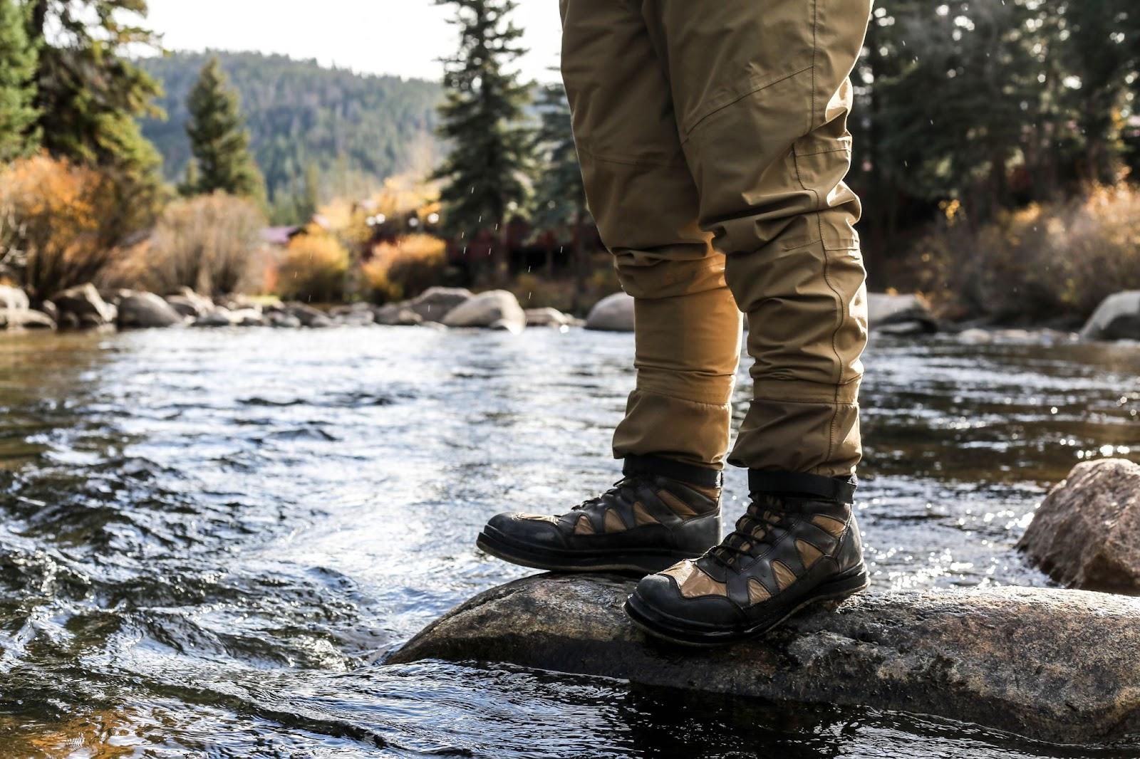 Felt Fly Fishing Boots