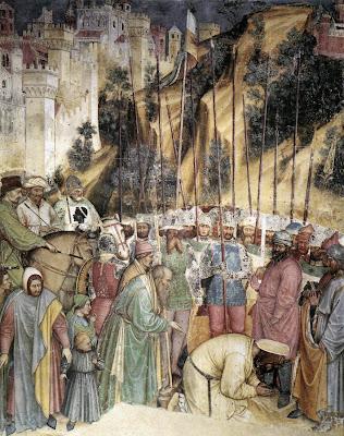 Микаэл ван Кокси. Мученичество святого Георгия