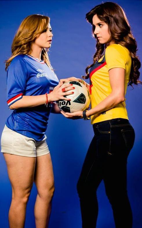 Chulas aficionadas de Cruz Azul - Futbol Sapiens
