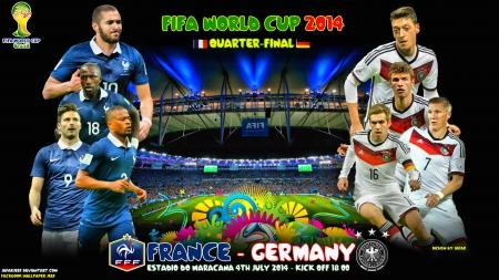 Pháp-Đức, trận chiến kinh điển của châu Âu ở tứ kết World Cup 2014