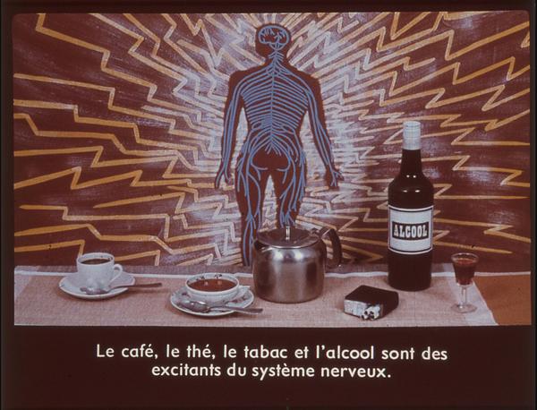 Films fixes et publicités de quartier (educational filmstrips) sur www.filmfix.fr : Vivre sainement