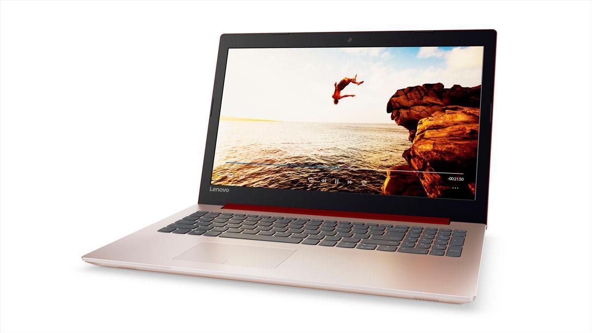 Фото1  Ноутбук Lenovo IdeaPad 320-15 Coral Red (80XH00W4RA)