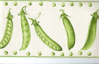 Peas on Earth Vintage Postcard
