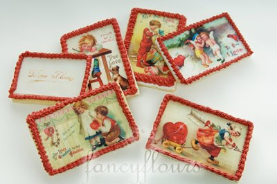 Edible Vintage Postcards?