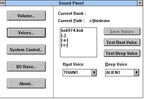 how to play sound files through console