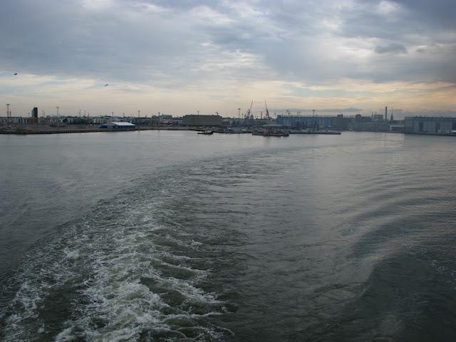 Odplouvani z Helsinek