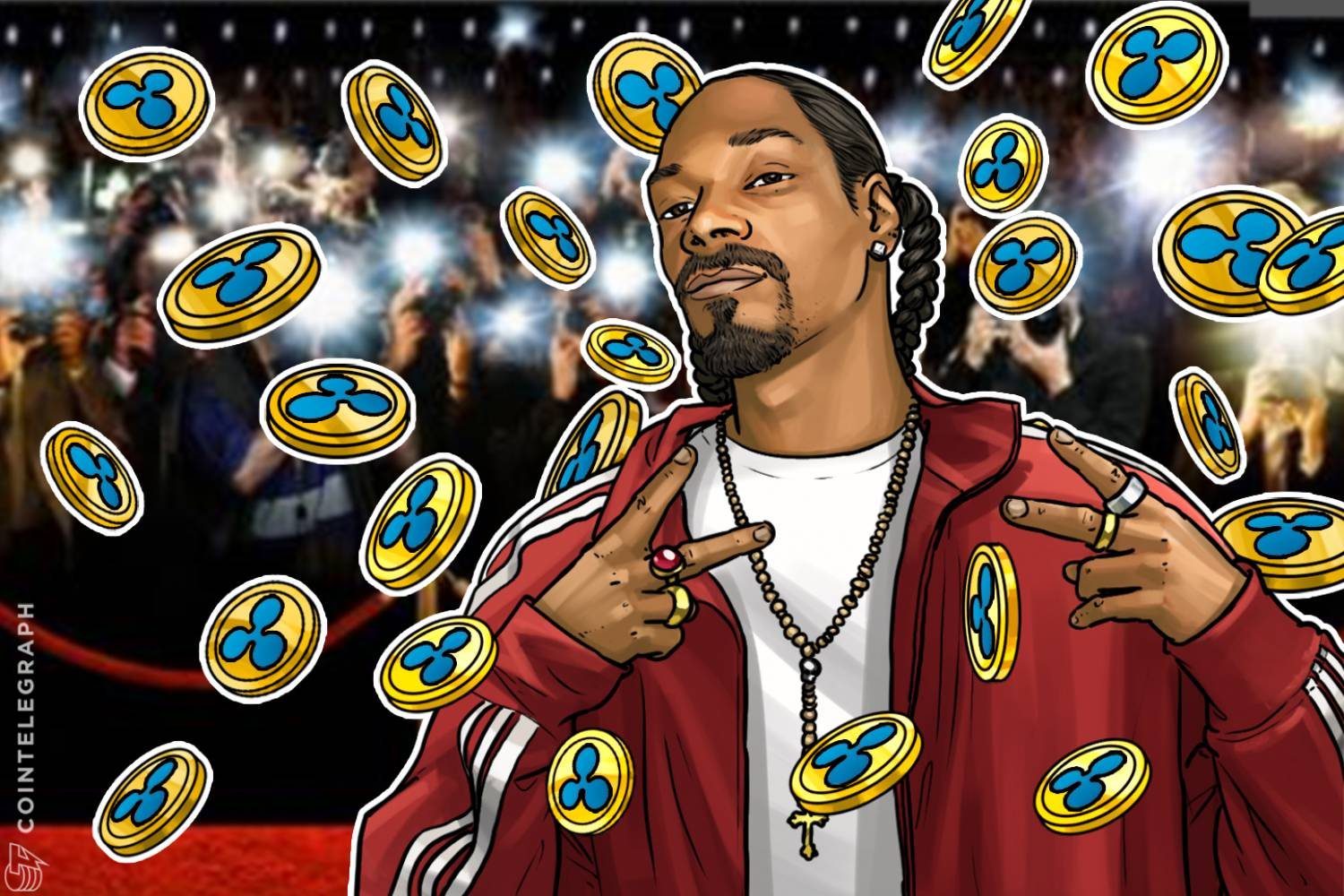 Snoop Dogg with Ripple