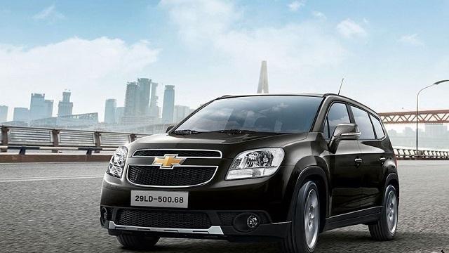 Chevrolet Orlando 2018 đến từ nước Mỹ (Nguồn: Internet)