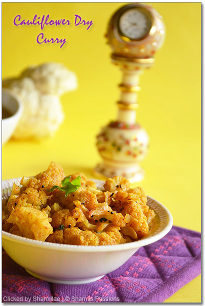 Cauliflower dry curry Recipe