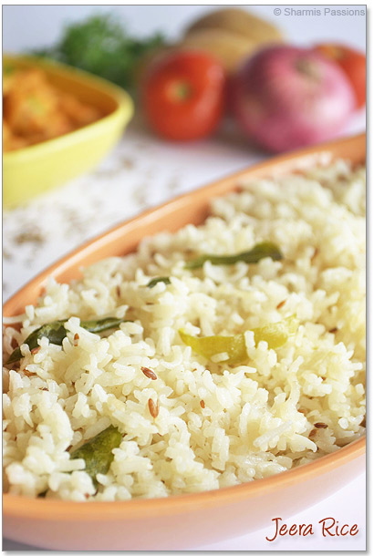 Jeera Rice(Jeera Pulao) Recipe
