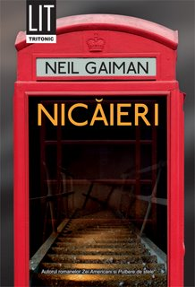 Nicaieri de Neil Gaiman la editura Tritonic