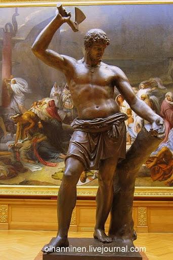 Статуя Русский Сцевола В.И. Демут-Малиновского 1813 года