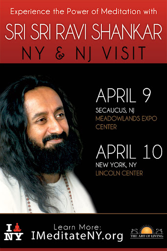 Evening with Sri Sri Ravi Shankar: 9th April 2011