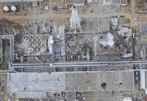 разрушения на Фукусиме