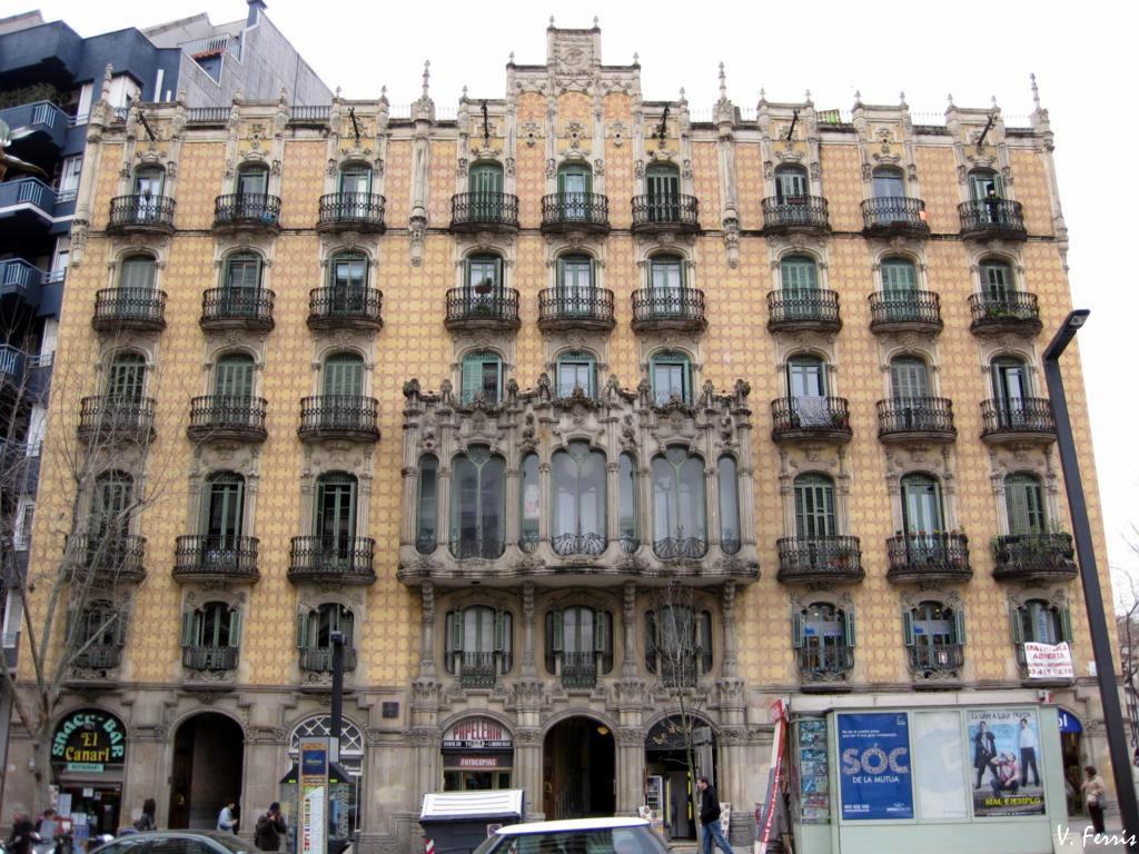 Casas ramos barcelona modernista - Casa modernista barcelona ...