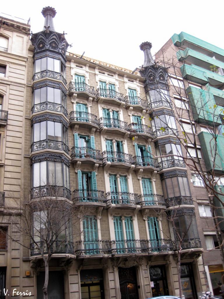 Casa santurce barcelona modernista - Casa modernista barcelona ...