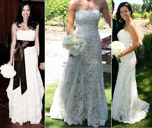 lace wedding dress 2011. hair Lace wedding dresses 2011