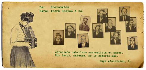 Conversaciones postales. Photomaton vs André Breton & Co.