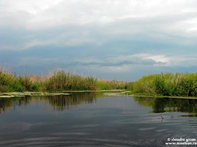 liniste pe lac in asteptarea furtunii