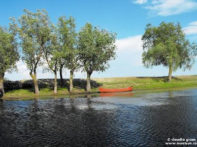 barca pescareasca din Letea