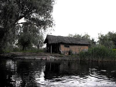 locuinte de pescari in Delta Dunarii