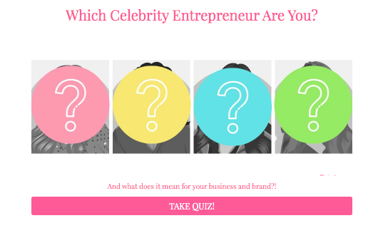 Which Celebrity Entrepreneur are you quiz cover