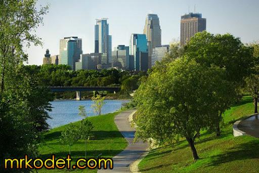 2. Minneapolis Minn. 10 Bandar Terbersih Di Dunia
