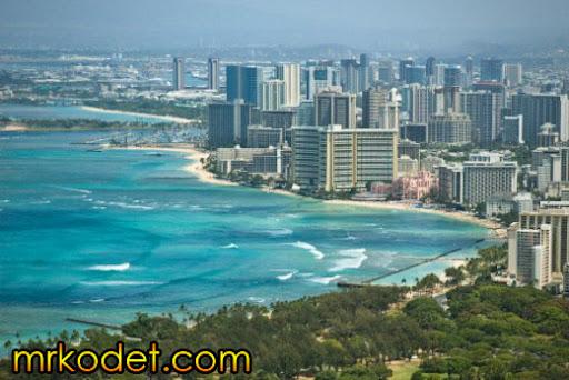 4. Honolulu Hawaii 10 Bandar Terbersih Di Dunia
