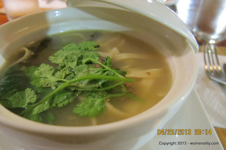 Duck Noodle Soup at Cafe by The Ruins Restaurant