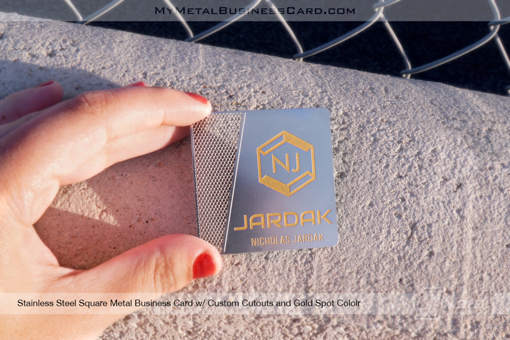 My Metal Business Card |Fen O5Dt1Aaggxraut25