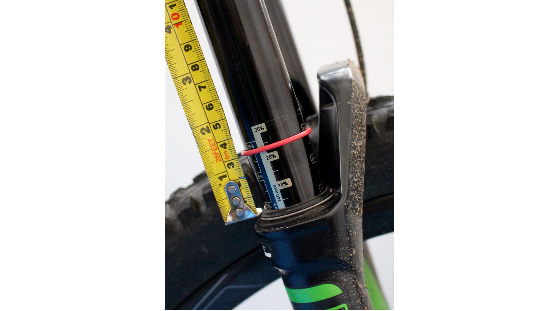 настройка вилки на велосипеде