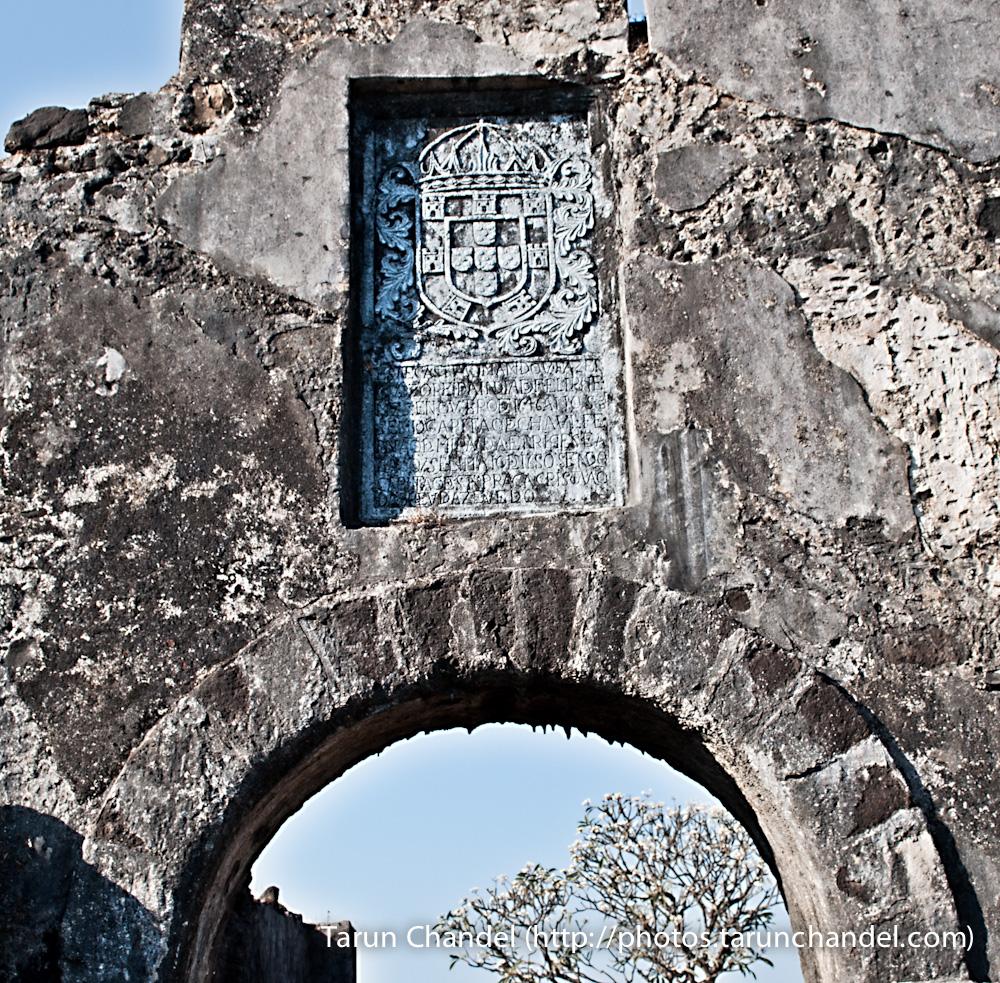 Korlai Fort Stone, Tarun Chandel Photoblog